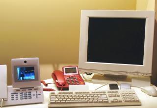 Secretária eletrônica moderna
