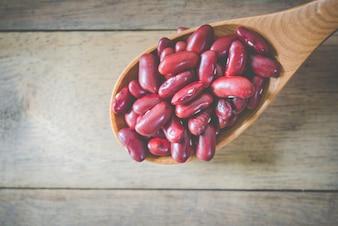 Semente de saúde orgânica vegan seco
