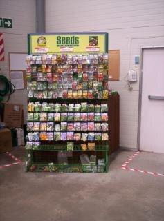 sementes, o agricultor
