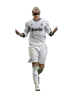 Sergio Ramos do Real Madrid La Liga