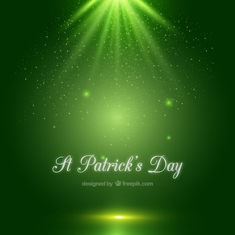 Reluzente St Patricks fundo