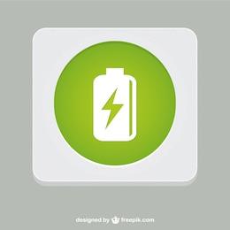 Símbolo da bateria