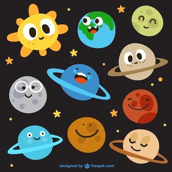 Sistema solar bonito