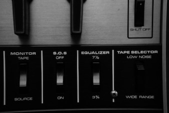 Interruptores de controle de som