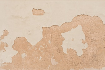 Spalling parede de pedra