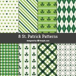 St Patrick coleção padrões