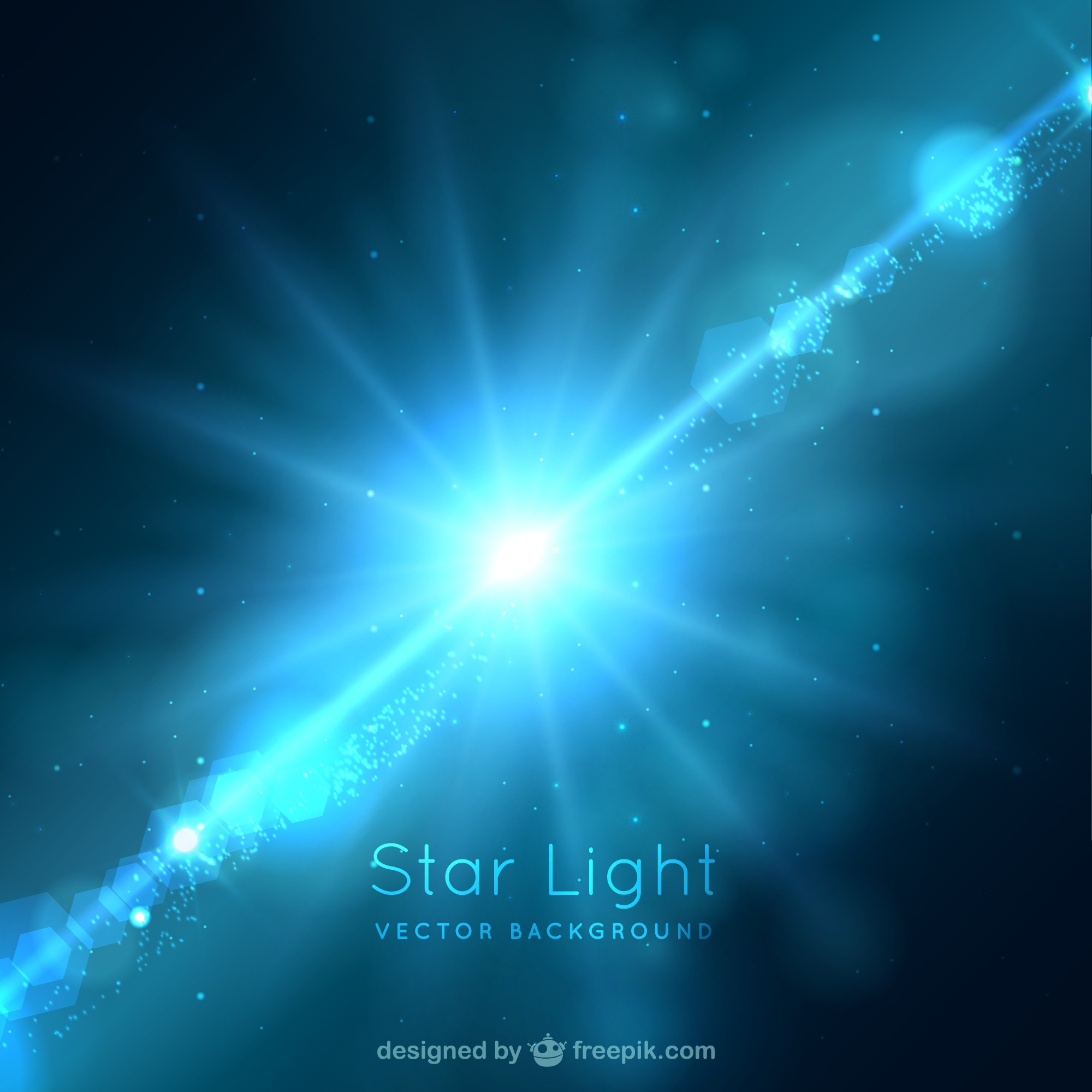 Star background luz