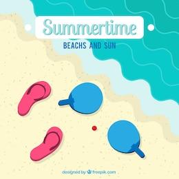 Summertime ilustração