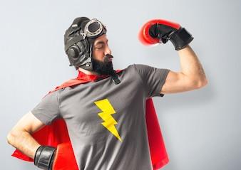 Super-herói forte