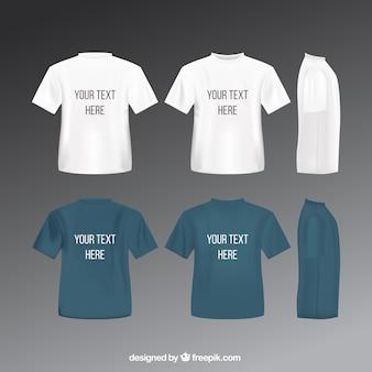 T camisetas template