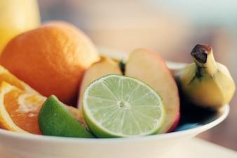 Taça de frutas frescas