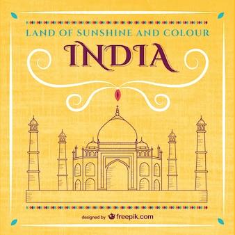 Taj Mahal vetor livre