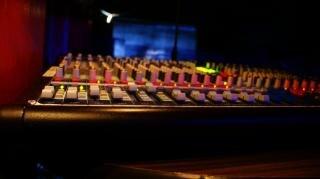 Técnico de som, equipamento