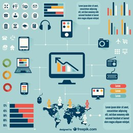Tecnologia infográfico livre