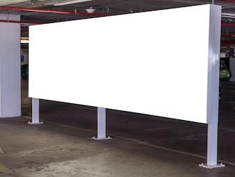 Tela de cinema em branco