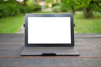 Tela do tablet