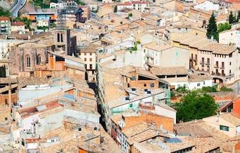 Telhados da cidade velha. Cardona
