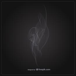 Template fumaça vetor