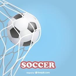 Template objetivo de futebol