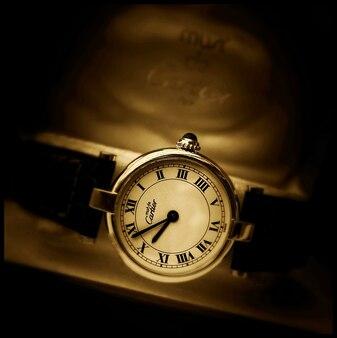 relógio cartier vintage