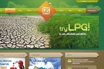 Terra template website tonificado