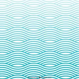 Teste padrão de ondas
