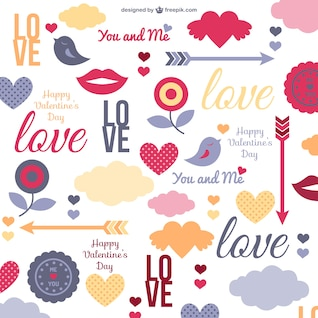 Teste padrão do amor