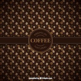 Teste padrão dos feijões de café