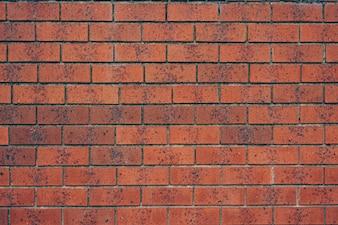 Textura de fundo da parede de tijolo vermelho