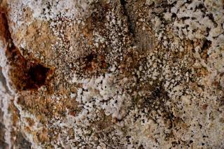 textura de pedra geotérmica