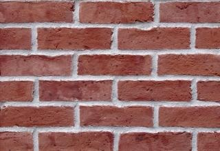 textura de tijolos, forte