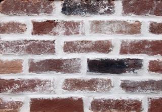 Textura de tijolos, horizontal