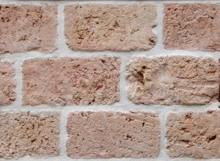 Textura de tijolos, sujo
