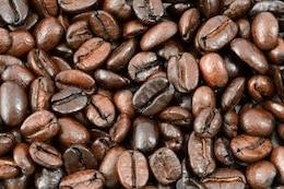 textura grãos de café