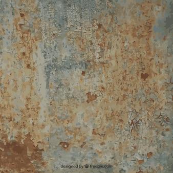 Textura oxidada do metal