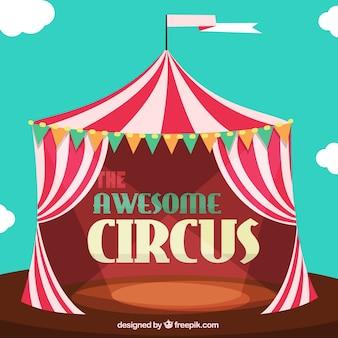 O circo impressionante