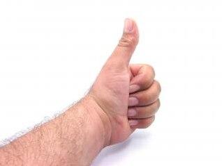 thumbs up, unhas