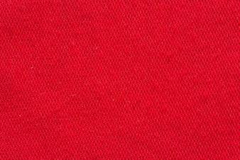 Tira vermelha de tela macro disparada como textura ou fundo