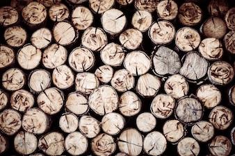Toras de lenha
