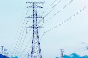 Torre elétrica, geração de energia