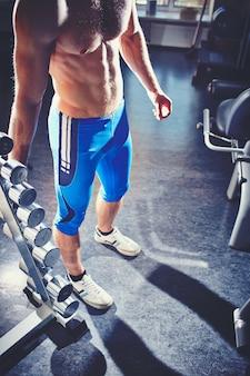 Trabalhar fora do bíceps
