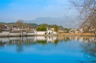 Tradição residencial oriental pacífica viagem vila