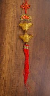 Tradicional, celebração, oriental, lunar, texto