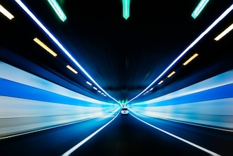 Tráfego em um túnel