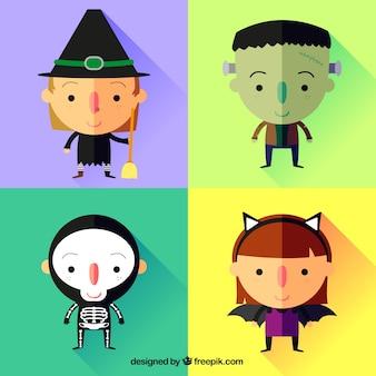 Trajes do dia das bruxas adorável