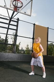 Treino de basquete