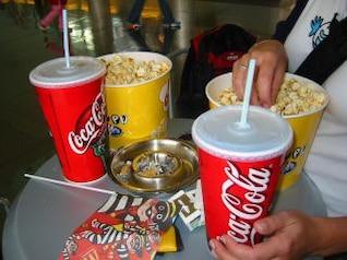 um dia no cinema