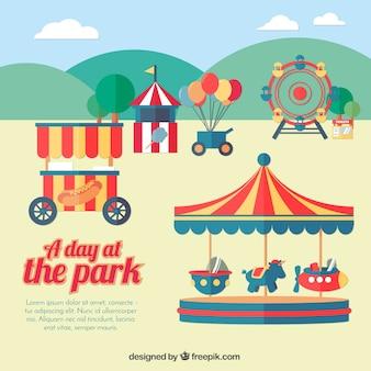 Um dia no parque