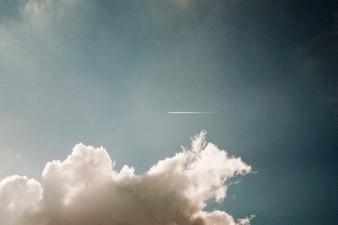 Uma faixa no céu