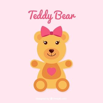 Urso de peluche bonito